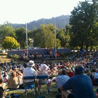Photo taken at Cathedral Park by Tae Phoenix on 8/12/2012