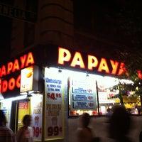 Photo taken at Papaya Dog by Rashied on 8/26/2012
