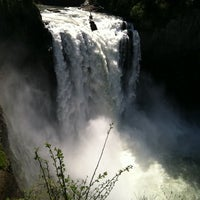 Photo taken at Snoqualmie Falls by Summer L. on 5/18/2011