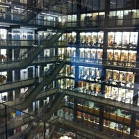 Photo taken at NYU Elmer Holmes Bobst Library by Sanna C. on 3/26/2012