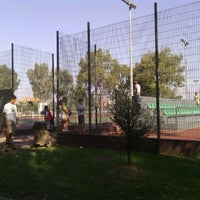 Photo taken at Complexo de Ténis e Padel de Almeirim by Paulo M. on 10/2/2011