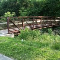 Photo taken at Bridge to Nowhere by Allen H. on 6/6/2011