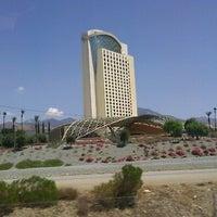 Photo taken at Morongo Casino Resort & Spa by Joseph M. on 8/19/2012
