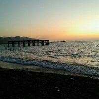 Photo taken at Filyos Sahil by Burcu T. on 8/25/2012
