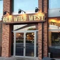 Photo taken at Old Wild West by Sergio C. on 3/26/2012