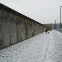 Photo taken at Berlin Wall Memorial by Andras K. on 2/5/2012