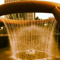 Photo taken at Fountain Of Wealth by Abbie R. on 4/26/2012