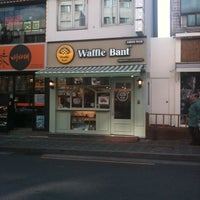 Photo taken at Waffle Bant by CY L. on 12/10/2011