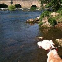 Photo taken at Bromham Bridge by J S. on 4/30/2011