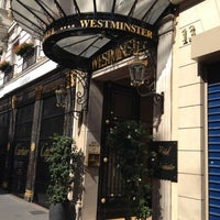 Photo taken at Hôtel Westminster by Nataliya on 7/22/2012