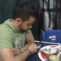 Photo taken at Tacos Los Primos by Juan G. on 6/20/2012