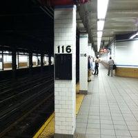 Photo taken at MTA Subway - 116th St/Columbia University (1) by Piotr S. on 6/25/2011