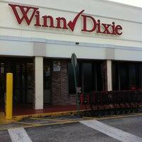 Photo taken at Winn-Dixie by Janet D. on 10/14/2011