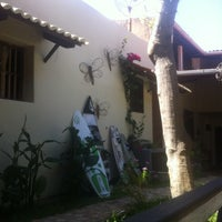 Photo taken at Pousada Baobá by Frederico M. on 12/4/2011