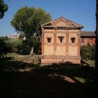Photo taken at Sepolcro Di Annia Regilla by Maurizio ZioPal P. on 10/2/2011