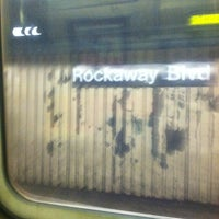 Photo taken at MTA Subway - 88th St/Boyd Ave (A) by Eric G. on 11/30/2011