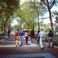 Photo taken at Locust Walk by Saeed A. B. on 9/9/2012