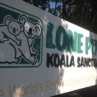 Photo taken at Lone Pine Koala Sanctuary by João Luiz G. on 8/20/2012