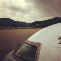 Photo taken at Aspen/Pitkin County Airport (ASE) by Anthony D. on 7/3/2012