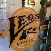 Photo taken at Leo's Bagels by Lee H. on 5/12/2012