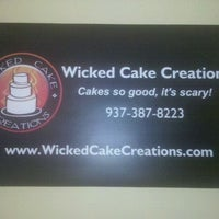 Photo taken at Wicked Cake Creations by Mark P. on 4/16/2011