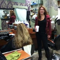 Photo taken at Aspire Hair Salon by Deborah S. on 10/15/2011