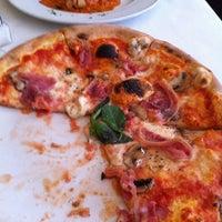 Photo taken at Serafina Fabulous Pizza by Dan N. on 8/25/2011