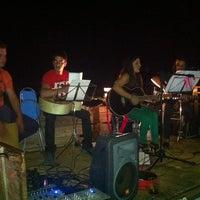 Photo taken at Bar de la piscina by FelixLopez on 8/12/2012