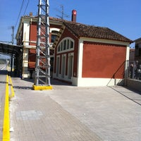 Photo taken at RENFE Sant Vicenç de Castellet by TAXI650 BAGES 6. on 5/30/2012