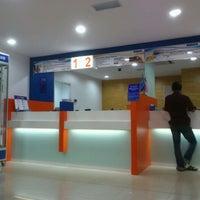 Photo taken at Bank Rakyat Caw. K.Terengganu by Engku A. on 4/16/2012