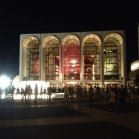 Photo taken at Josie Robertson Plaza (Lincoln Center Plaza) by Christopher S. on 8/19/2012