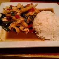 Photo taken at Sticky Rice Thai by Lauren R. on 9/14/2011