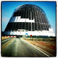 Photo taken at Hangar One (Building 1) by Jessica C. on 8/26/2011