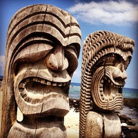Photo taken at Puʻuhonua o Hōnaunau National Historical Park by Filippo G. on 8/28/2012