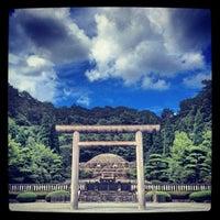 9/3/2012にGlockが武蔵陵墓地 (多摩御陵)で撮った写真