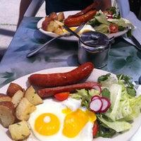 Photo taken at Cafe Steinhof by Keira C. on 5/18/2012