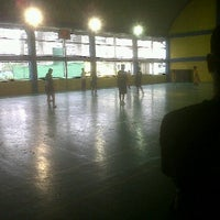 Photo taken at Brgy San Antonio Basketball Court by Delwyn C. on 10/1/2011