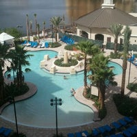 Photo taken at Wyndham Grand Orlando Resort-Bonnet Creek by Beth C. on 10/12/2011