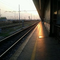 Photo taken at Verona Porta Nuova Railway Station by Damian G. on 10/13/2011
