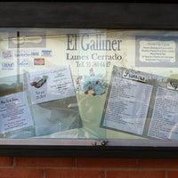 Foto tomada en Restaurant El Galliner por Xavier B. el 1/9/2011