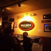 Photo taken at Walsh's Bar & Grill by David T. on 2/19/2011