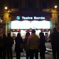 Photo taken at Teatre Borràs by Elisabet M. on 2/24/2012