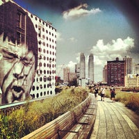 Photo taken at High Line 10th Ave Amphitheatre by Dr. Eric W. on 8/17/2012