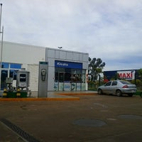 Photo taken at Gasolinera Petrobras by Bruno S. on 7/9/2012