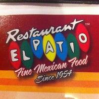 Photo taken at El Patio by El Quince R. on 8/13/2012