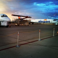 Photo taken at Phoenix-Mesa Gateway Airport (AZA) by Stephen T. on 8/24/2012