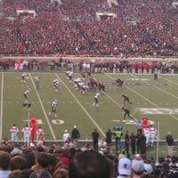 Photo taken at Jones AT&T Stadium by Bruce D. on 10/9/2011