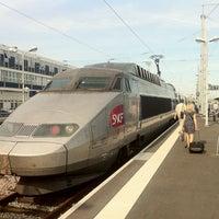 Photo taken at Nantes Railway Station by MikaelDorian on 7/4/2011