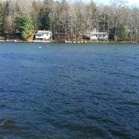 Photo taken at Lewandusky Lake Front by Lynn L. on 12/4/2011