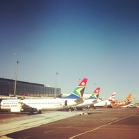 Photo taken at O. R. Tambo International Airport (JNB) by Kabelo M. on 3/3/2012
